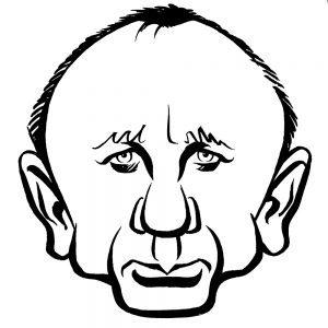 Daniel Craig caricature