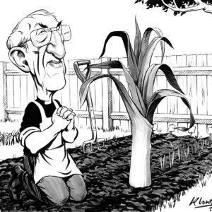 Ken Lowe Illustration caricature