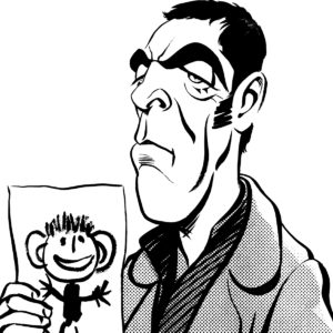 James Nesbitt caricature