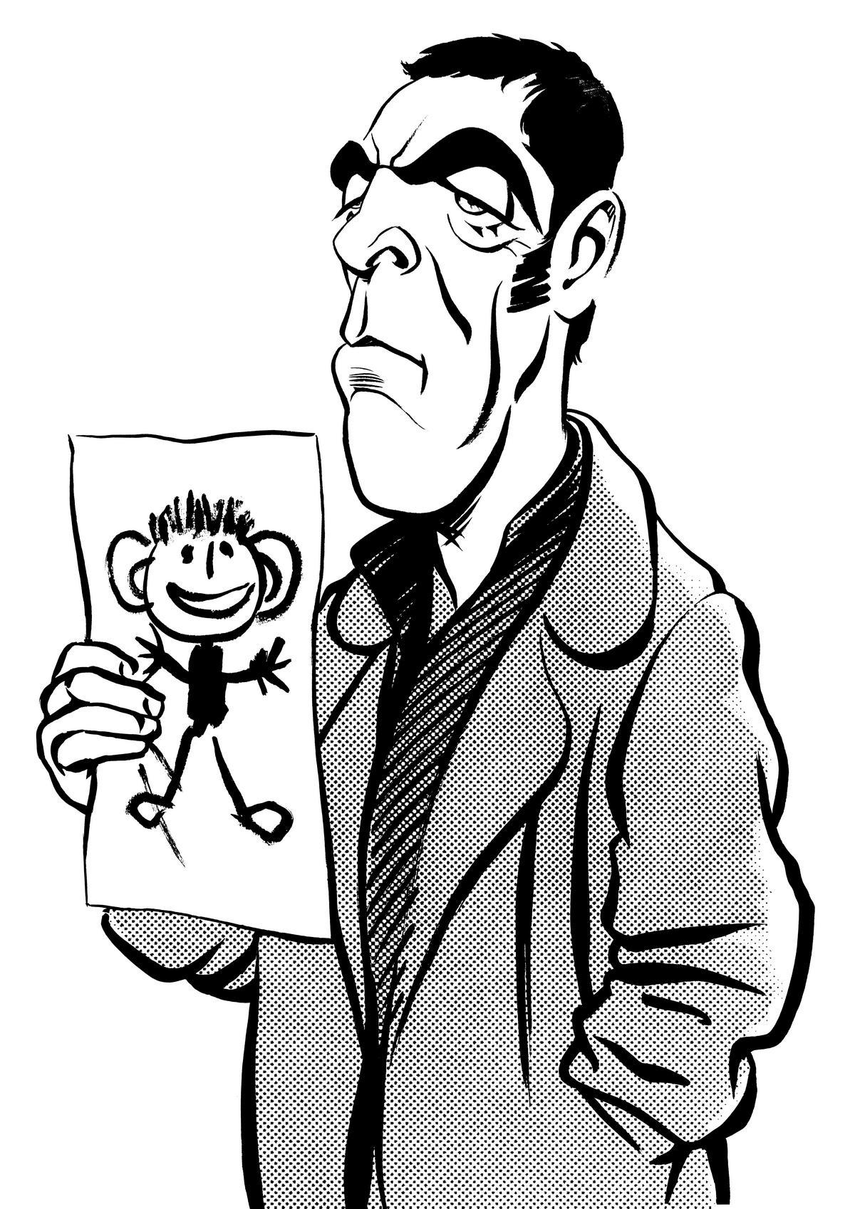 James Nesbitt caricature