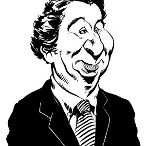 Oliver Letwin caricature