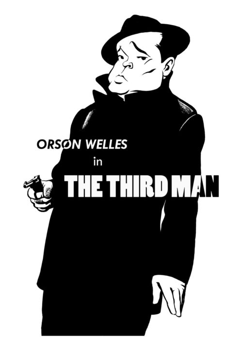 Orson Welles caricature